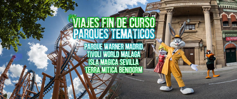VIAJES FIN DE CURSO PARQUES TEMÁTICOS ANDALUSCAMP