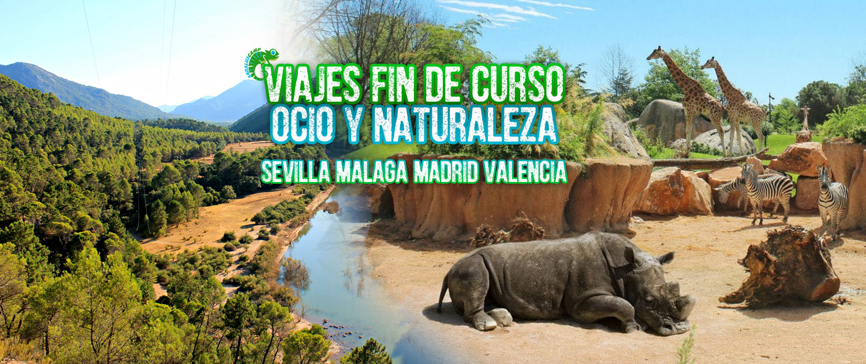 VIAJES FIN DE CURSO OCIO Y NATURALEZA ANDALUSCAMP