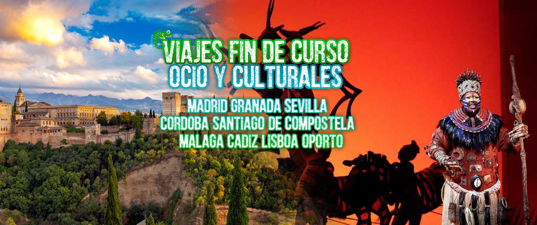 VIAJES FIN DE CURSO OCIO Y CULTURALES ANDALUSCAMP