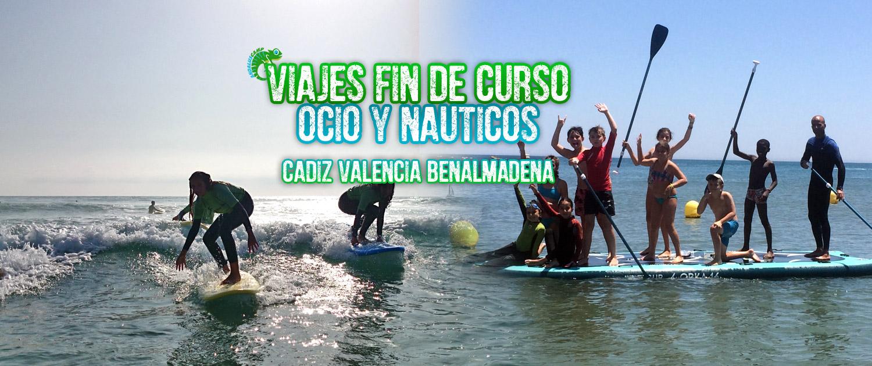 VIAJES FIN DE CURSO OCIO Y NÁUTICOS ANDALUSCAMP