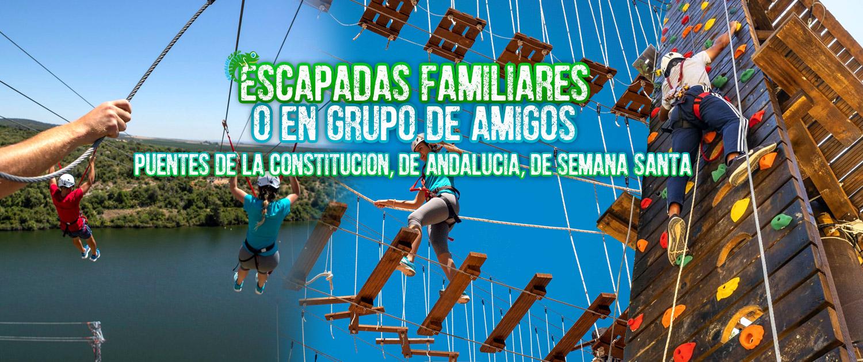 ESCAPADAS FAMILIARES O EN GRUPO DE AMIGOS ANDALUSCAMP
