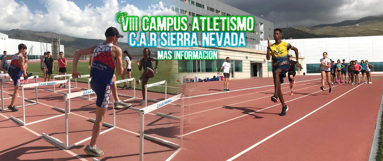 VIII CAMPUS ATLETISMO C.A.R SIERRA NEVADA 2021