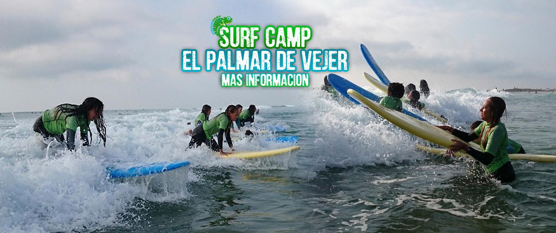 VI CAMPAMENTO DE SURF EL PALMAR DE VEJER CÁDIZ 2021