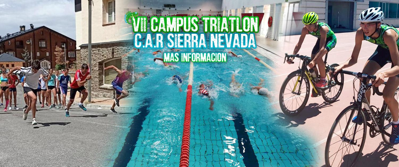 VII CAMPUS TRIATLÓN C.A.R SIERRA NEVADA 2021